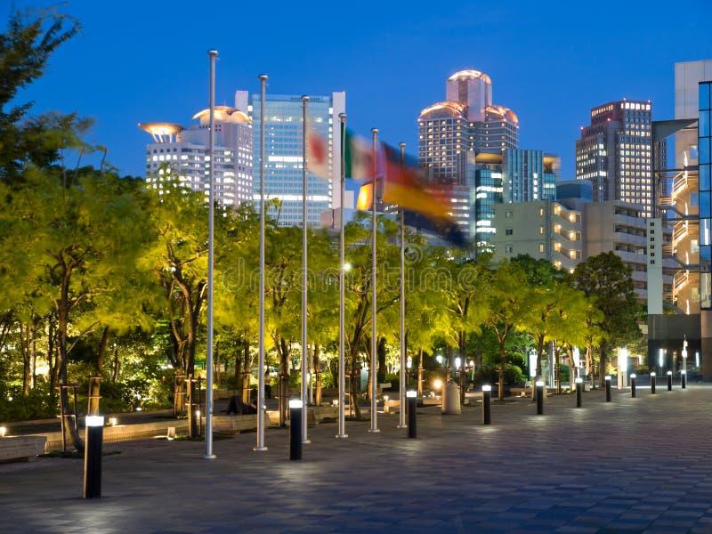 Download Osaka Night Skyline Stock Photo - Image: 5707860