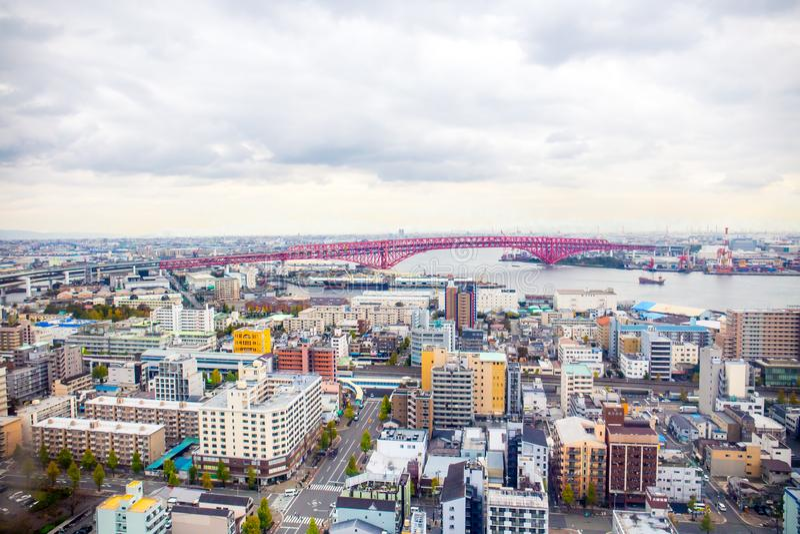 Osaka pejzaż miejski fotografia stock