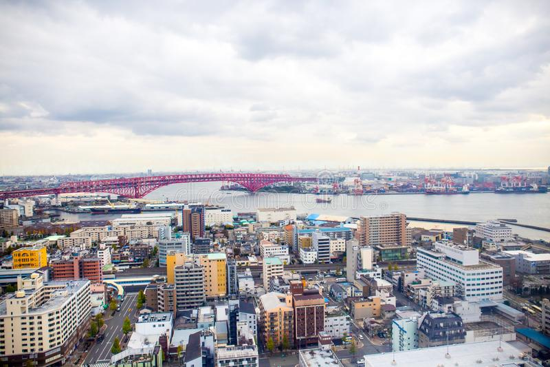 Osaka pejzaż miejski obraz stock