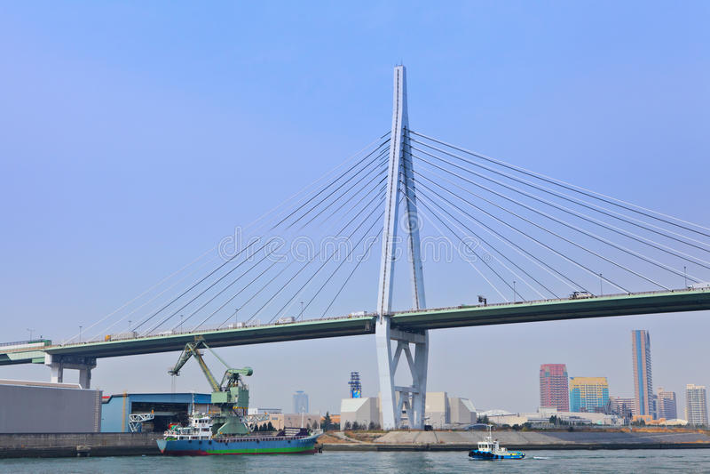 Osaka Port fotografie stock libere da diritti