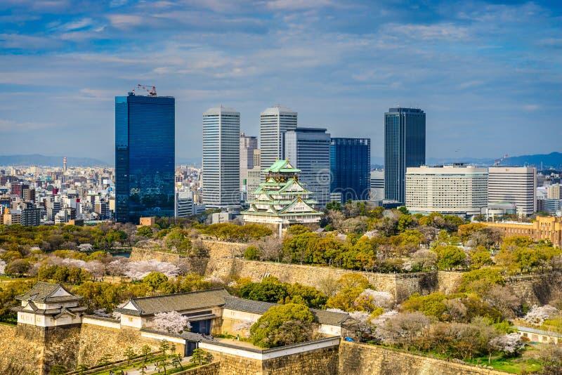 Osaka-Schlosspark lizenzfreies stockfoto