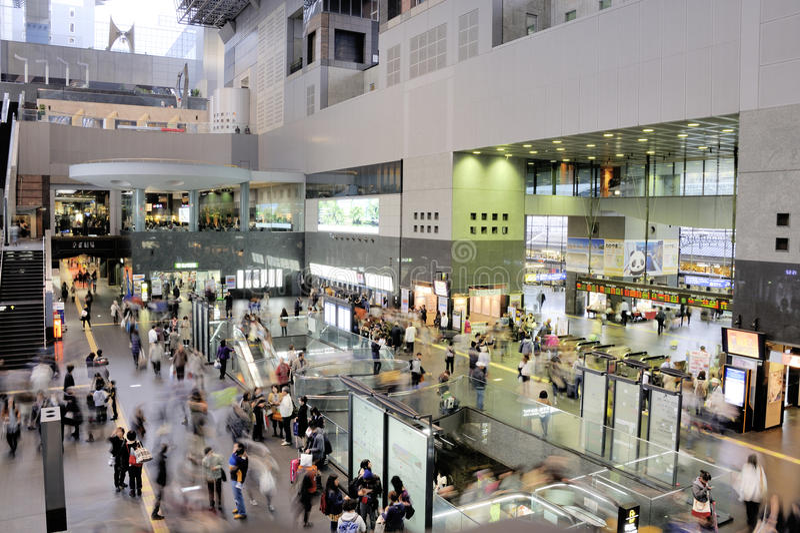 Osaka Station City photographie stock