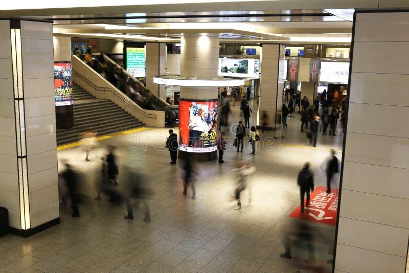 Osaka Station image stock