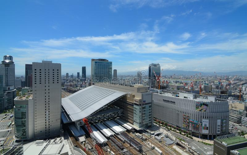 Download Osaka Station And Umeda Cityscape Editorial Photography - Image: 20458562