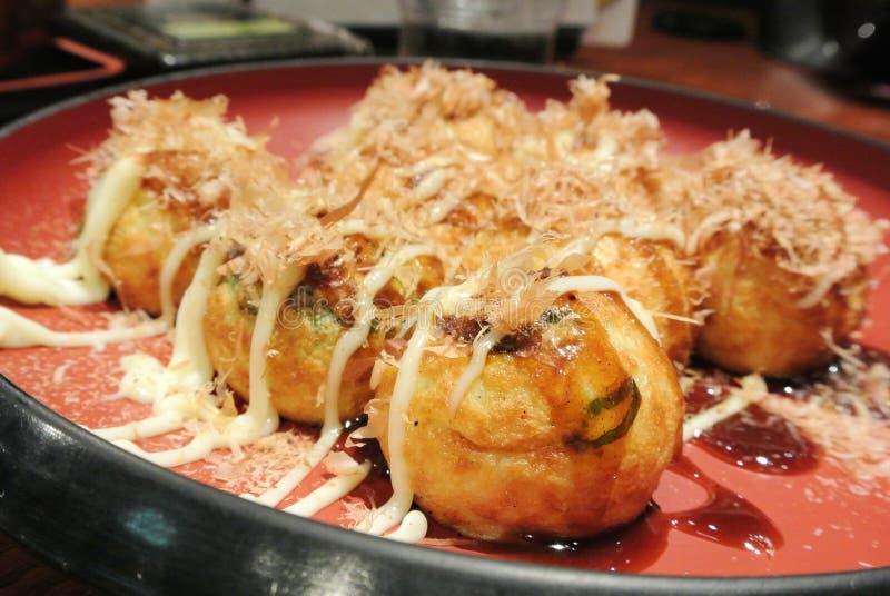 Osaka Takoyaki stockfoto
