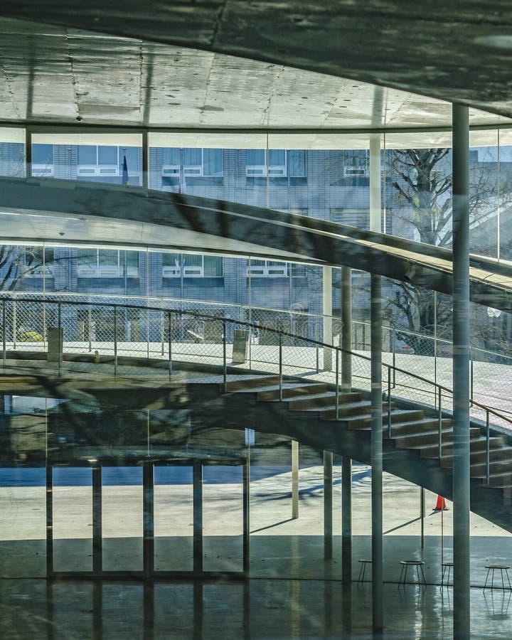 Osaka University du b?timent ext?rieur d'arts photo libre de droits