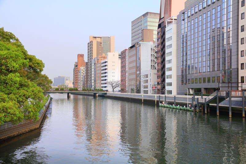 Osaka van de binnenstad royalty-vrije stock fotografie