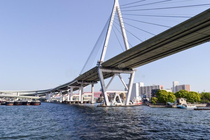 Osaka zatoka zdjęcie royalty free