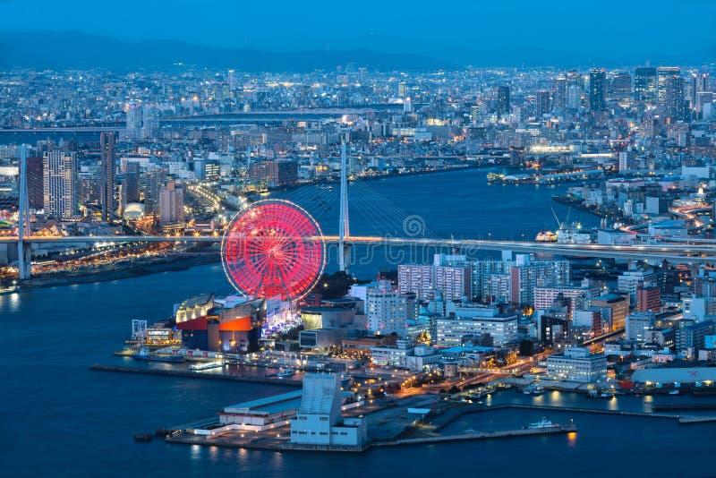 Osaka zatoka zdjęcia royalty free