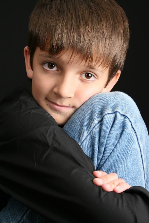 Osamotniony dziecko zdjęcie stock