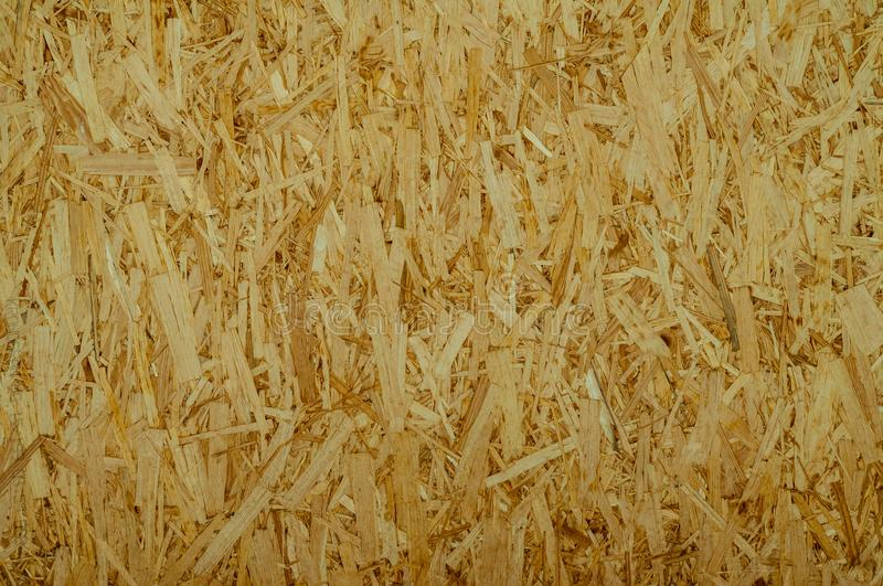 OSB – oriented strand board royalty free stock photos