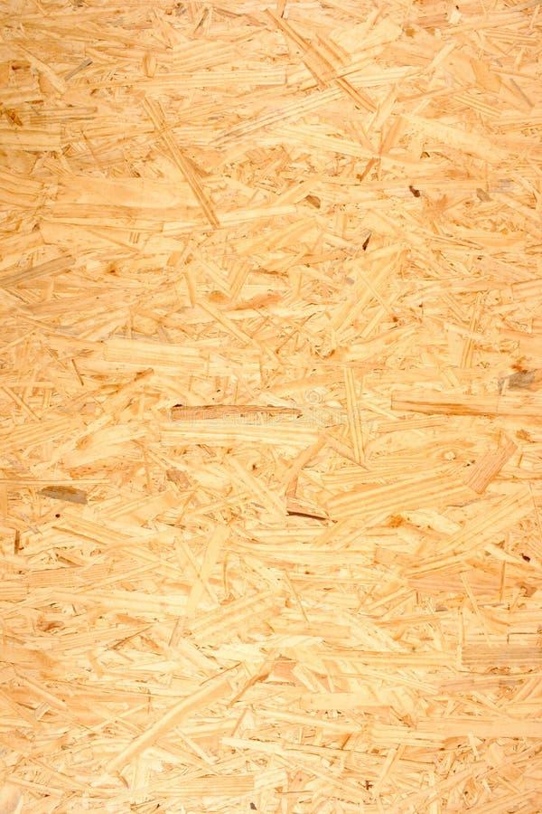 OSB - Tablero orientado del filamento (textura) imagen de archivo libre de regalías