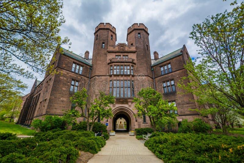 Osborn Pamiątkowi laboratoria przy uniwersytetem yale, w Nowej przystani, Connecticut zdjęcia royalty free
