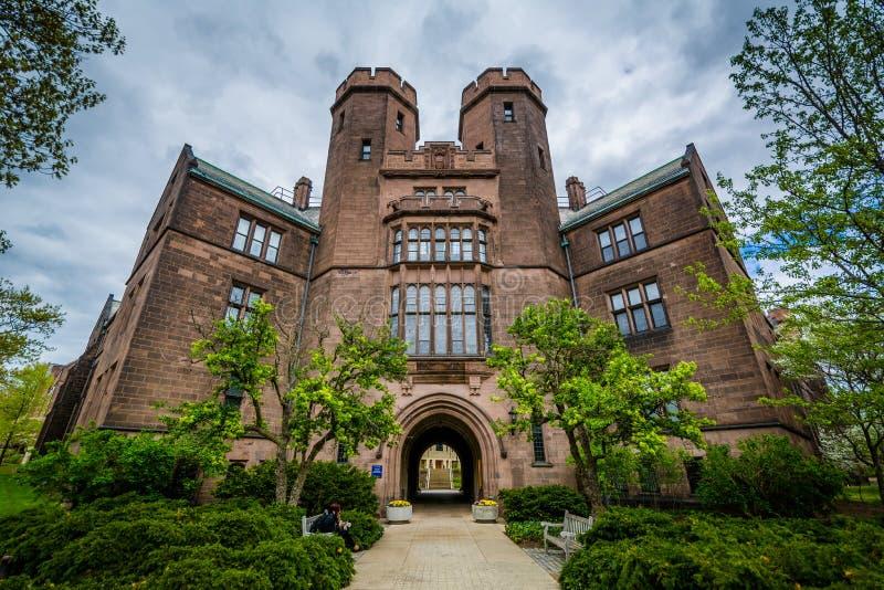 Osborn Pamiątkowi laboratoria przy uniwersytetem yale, w Nowej przystani, Connecticut obrazy royalty free