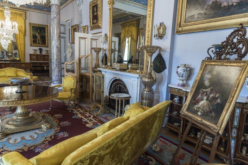Osborne för teckningsrum hus royaltyfri foto