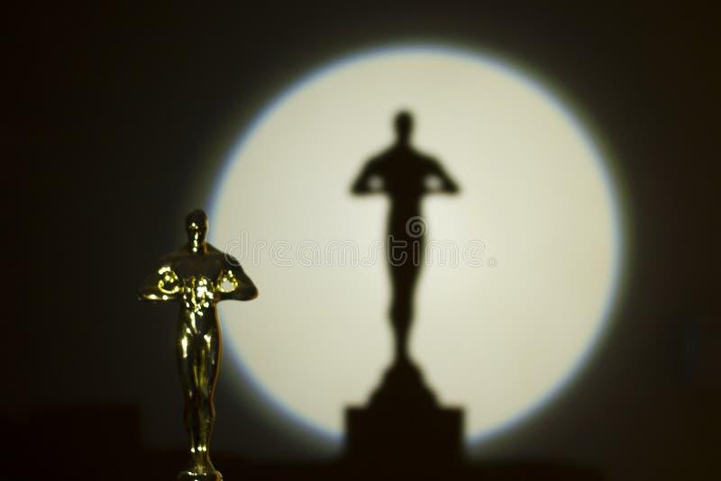 Oscar Award photographie stock libre de droits
