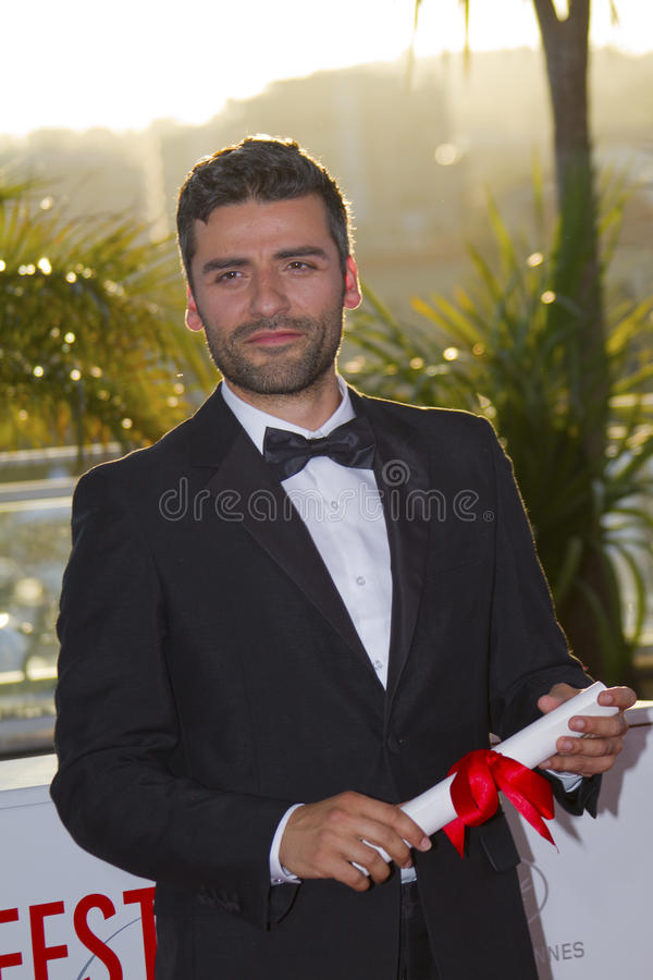 Oscar Isaac royalty free stock photography