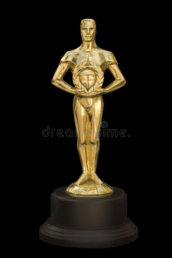 Statue Award royalty free stock photos