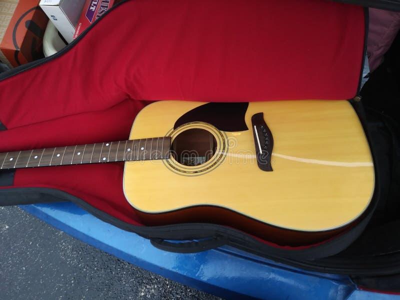 Oscar smidt washburn accoustic guitar. Beautiful stock photos