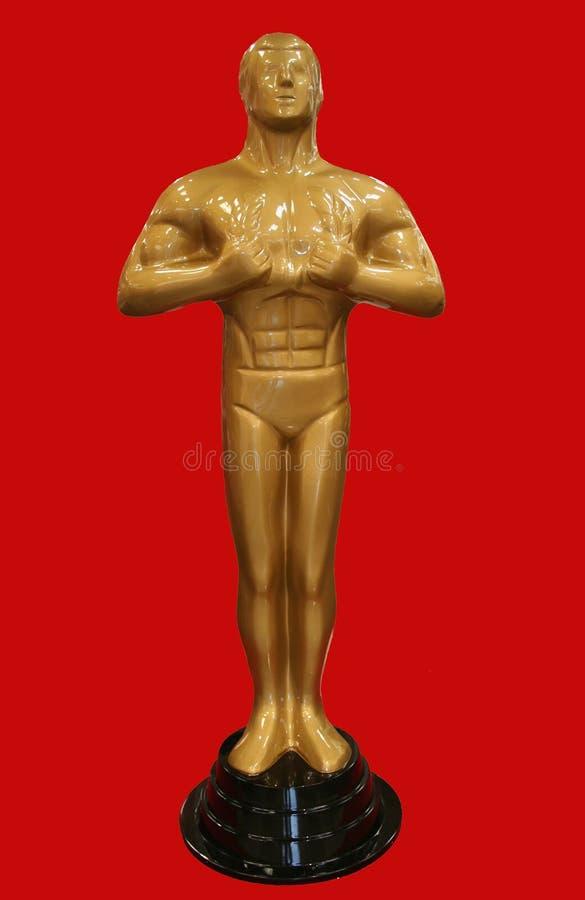 Oscar-Statue lizenzfreie stockfotografie