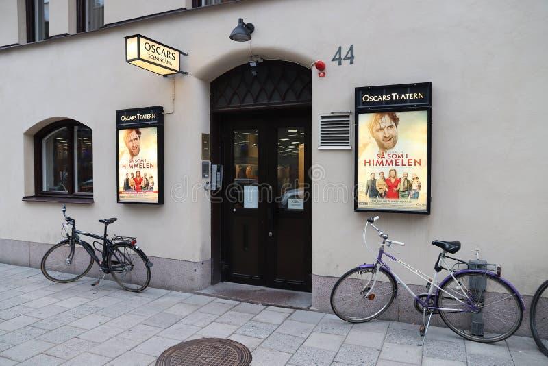 Oscars, Stoccolma fotografia stock libera da diritti