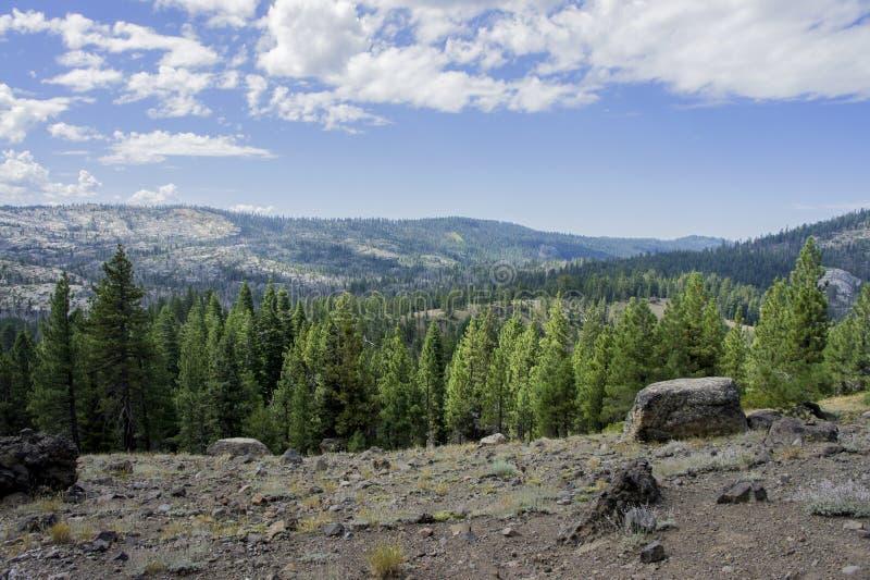Oscila el valle de desatención de Sierra foto de archivo libre de regalías