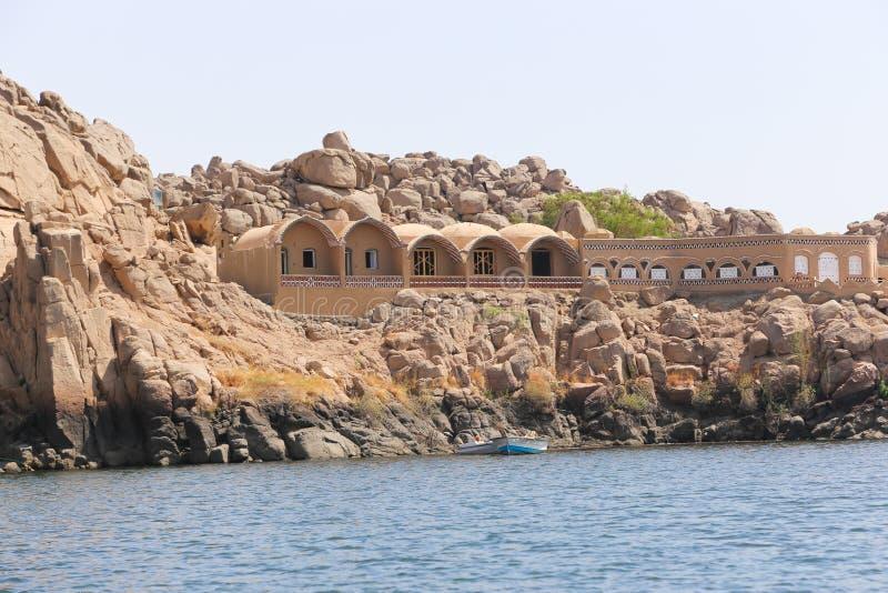 Oscila la isla Egipto fotos de archivo libres de regalías