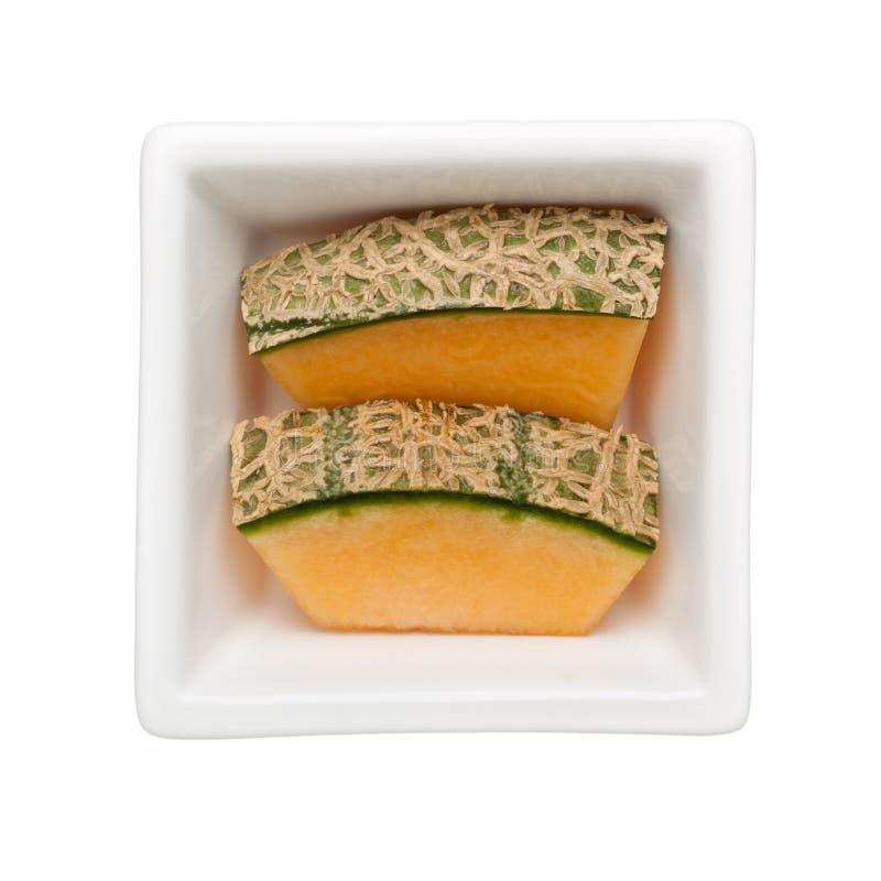 Oscile el melón imagen de archivo