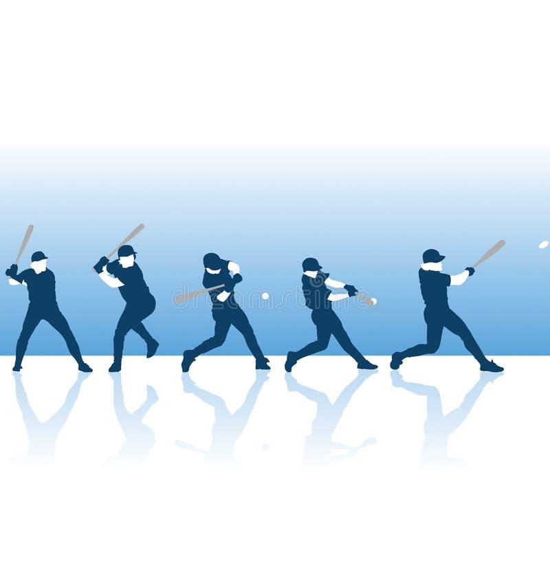 Oscillation de Basebal illustration libre de droits