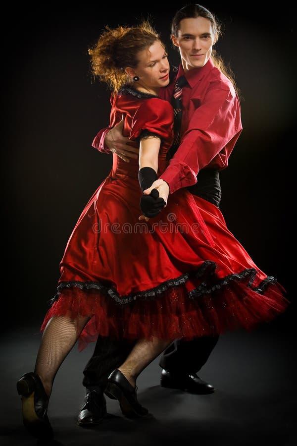 oscillation de danseurs image libre de droits
