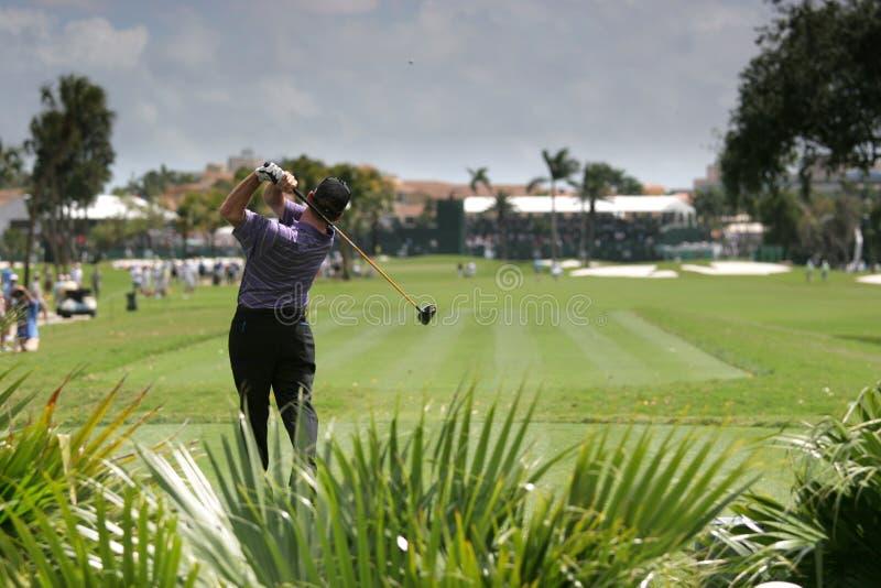 Oscillation de Gol à doral, Miami images libres de droits