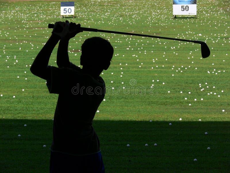 Oscillation de golf image libre de droits