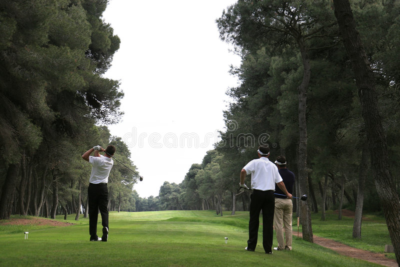 Oscillation de golf dans le tessali de dei de riva image stock