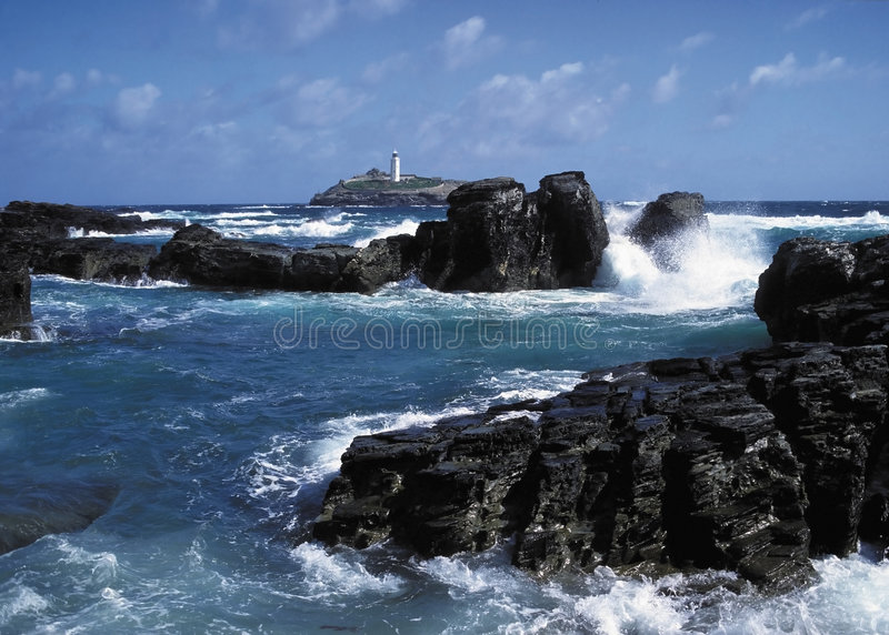 Oscille le phare images stock
