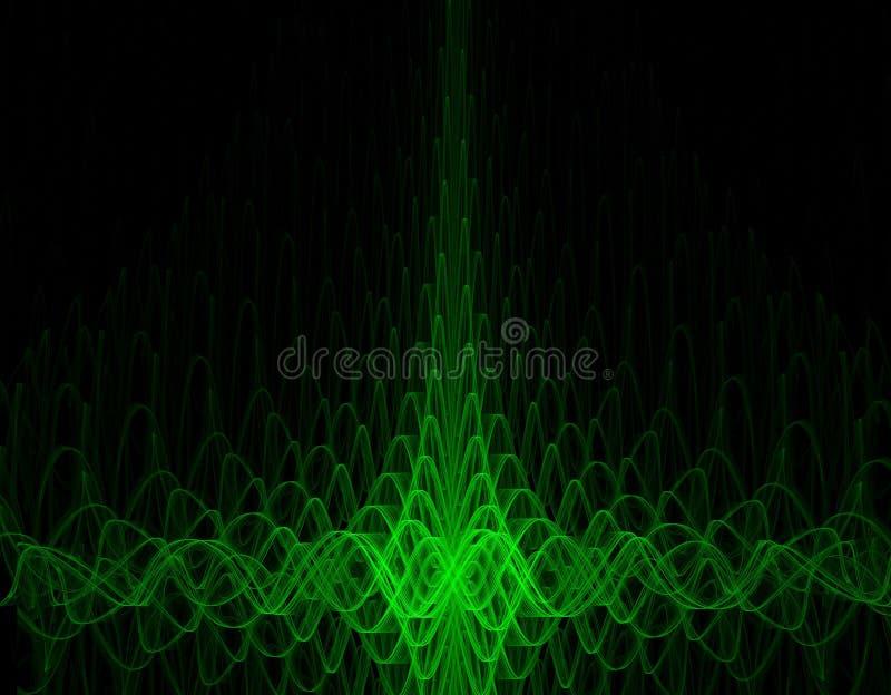 Oscillograph Background Stock Photography
