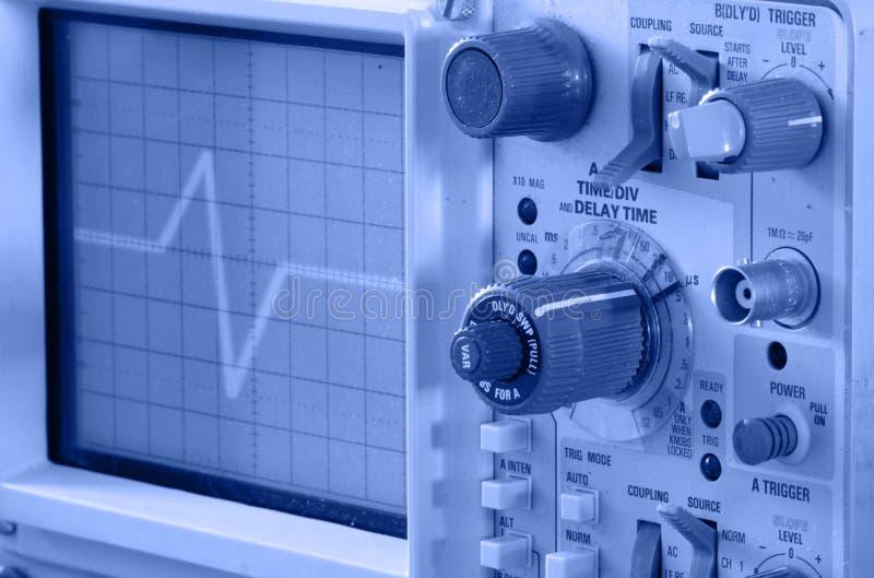 Oscilloscoop stock fotografie
