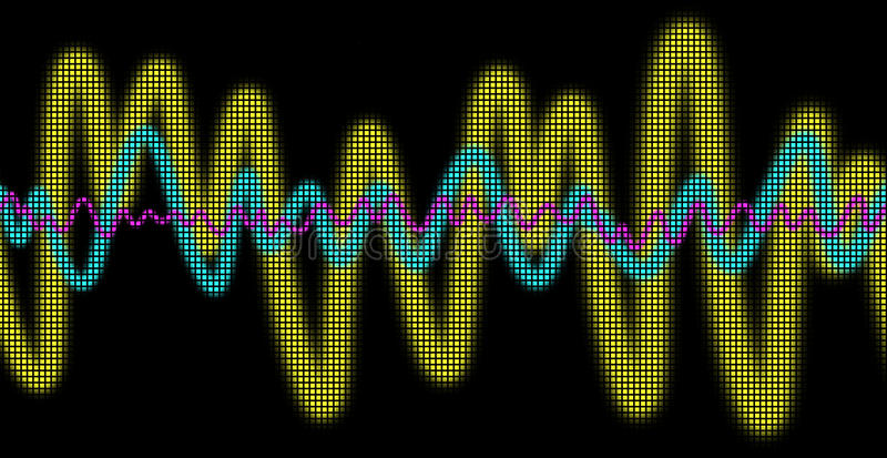 Download Oscilloscope stock illustration. Illustration of curves - 19631091