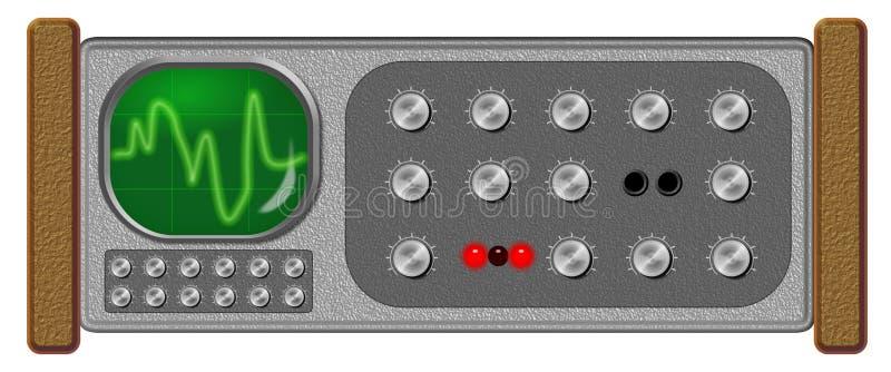Download Oscilloscope stock illustration. Illustration of noise - 8367127