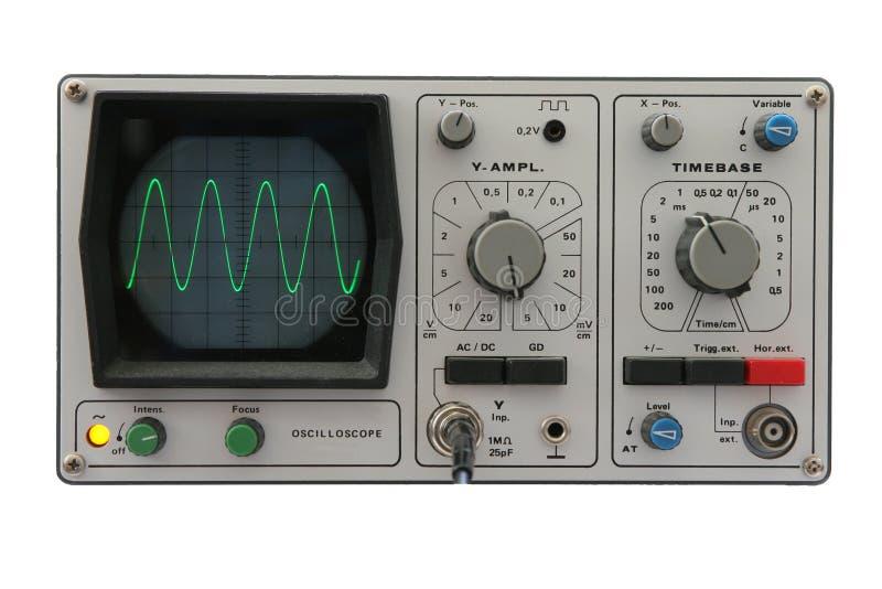Download Oscilloscope d'isolement image stock. Image du instruments - 82433