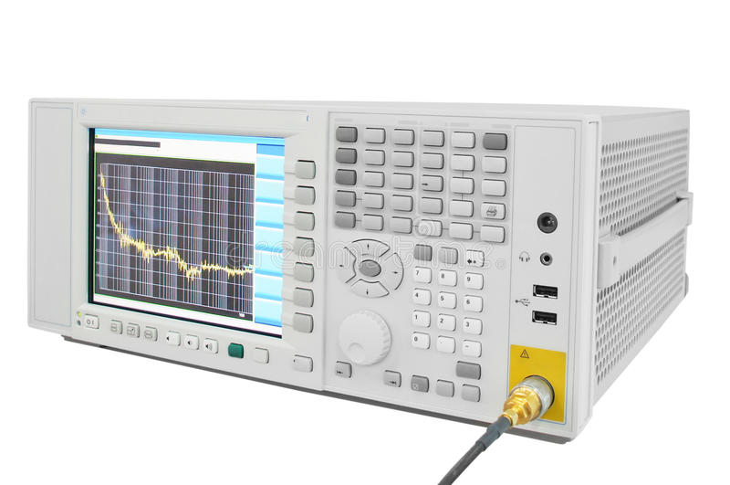 Oscilloscope royalty free stock photography