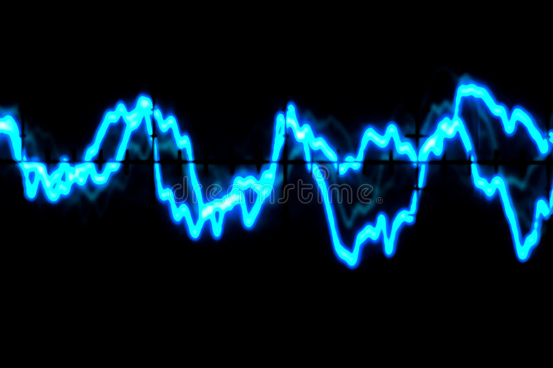 Download Oscilloscope Trace To Music Stock Illustration - Image: 6087706