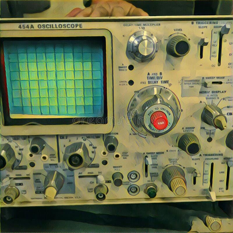 osciloscopio fotografía de archivo