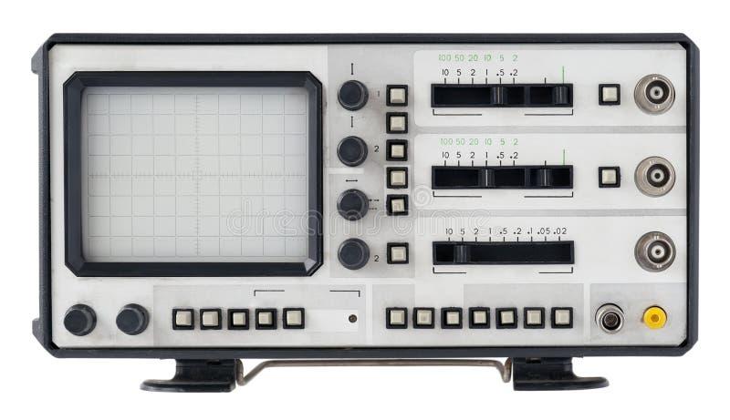 Osciloscopio viejo del abstrct imágenes de archivo libres de regalías