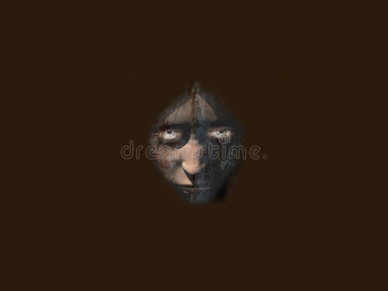 Oscuridad 2 stock de ilustración