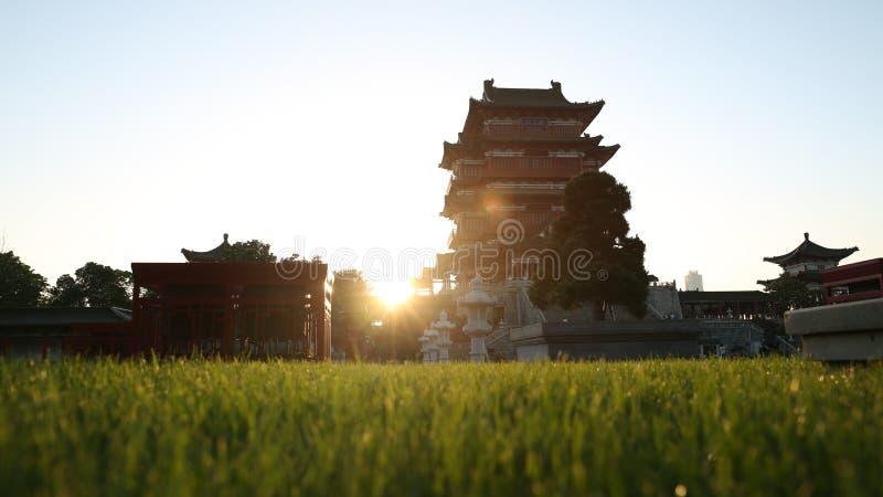 Oscuridad de China Nanchang fotografía de archivo