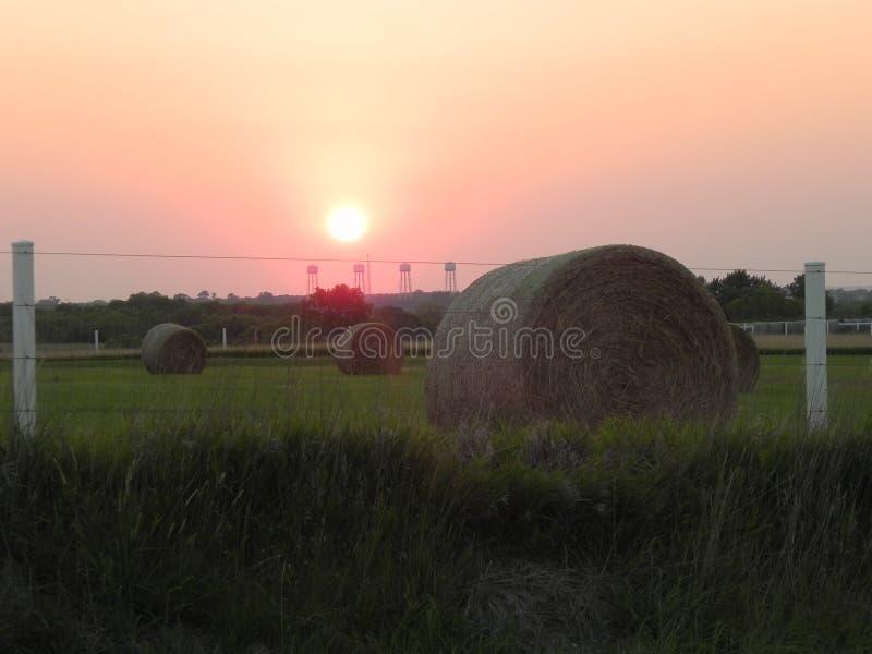 Oscuridad en la granja foto de archivo libre de regalías