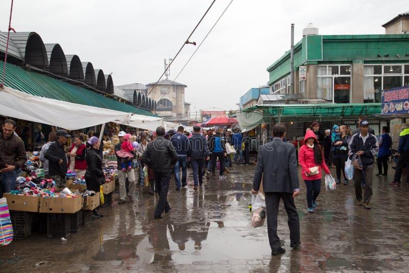 Oshbazaar in Bishkek, Kyrgyzstan stock foto