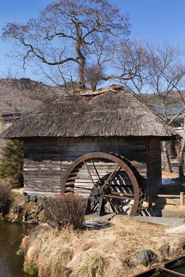 Oshino Hakkai Village, Japan royalty free stock image