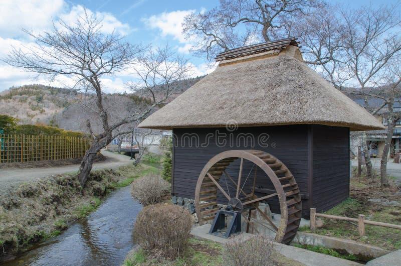 Oshino Hakkai wioska zdjęcie stock