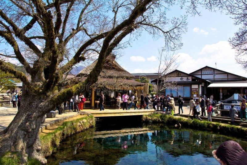 Oshino wioska zdjęcia stock